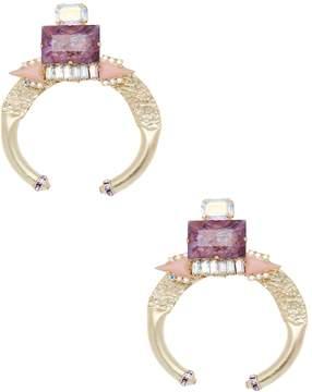 Elizabeth Cole Women's Gold-Plated Drop Earrings