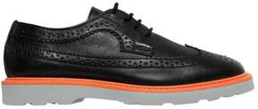 Paul Smith Brogue Leather Lace-Up Derby Shoes