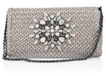 Eric Javits Devi Embellished Shoulder Bag