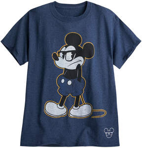 Disney Mickey Mouse ''Cool Mickey'' T-Shirt for Adults - Blue