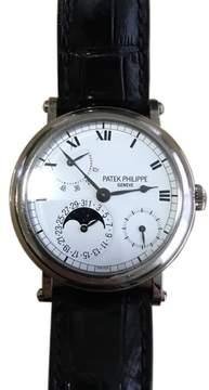 Patek Philippe 5054/P Platinum & White Dial 35mm Mens Watch