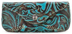 Patricia Nash Tooled Turquoise Collection Ardenza Glasses Case