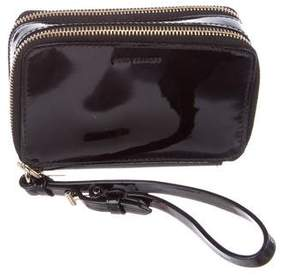 Reed Krakoff Leather Double-Zip Wallet
