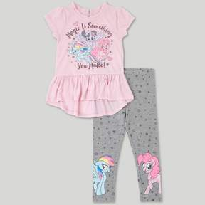 My Little Pony Toddler Girls' Top And Bottom Set - Pink