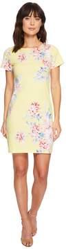 Joules Riviera Short Sleeve Printed Jersey Dress Women's Dress