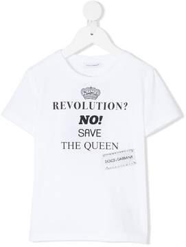 Dolce & Gabbana revolution print T-shirt
