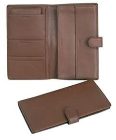 Royce Leather Unisex Deluxe Passport And Travel Case 215-5.