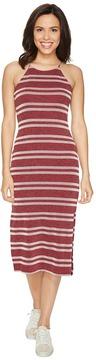 Culture Phit Indra Spaghetti Strap Striped Dress Women's Dress