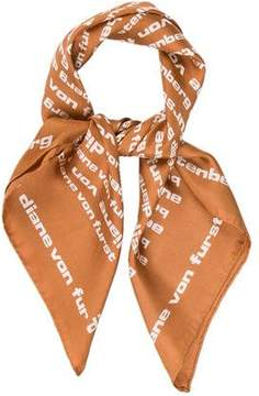 Diane von Furstenberg Printed Silk Scarf