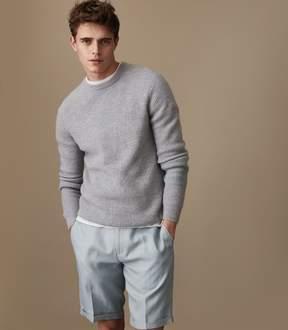 Reiss Cosmopolitan S Slim Fit Linen Blend Shorts