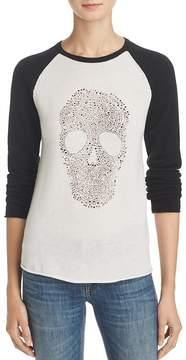 Aqua Cashmere Embellished Skull Sweater - 100% Exclusive