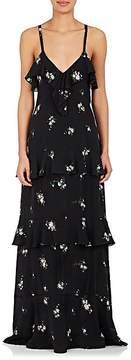 A.L.C. Women's Zaydena Tiered Silk Maxi Dress