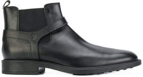 Tod's harness chelsea boots