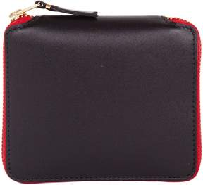 Comme des Garcons Wallet Wallet Tooth And Tongue Zip Around Wallet