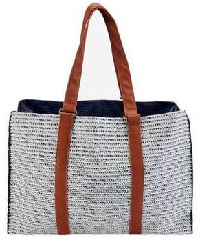 Women's San Diego Hat Company Paperbraid Tote BSB1564