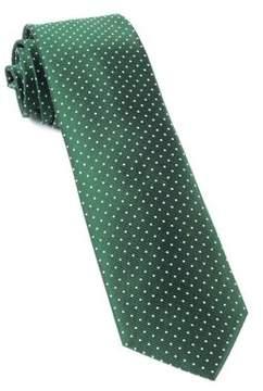 The Tie Bar Woven Dot Silk Tie