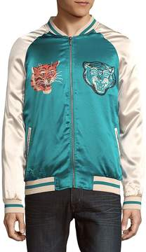 Hyden Yoo Men's Colorblock Long-Sleeve Jacket