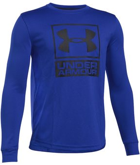 Under Armour Boys 8-20 Textured Tech Top