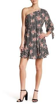 Collective Concepts One-Shoulder A-Line Dress