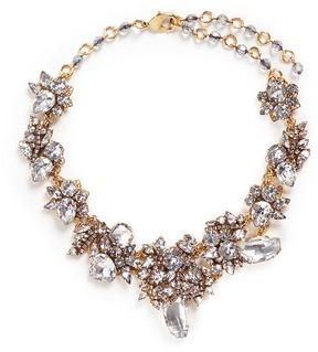 Erickson Beamon 'Valley of the Dolls' Swarovski crystal cluster necklace