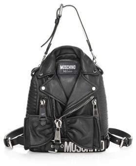 Moschino Biker Convertible Backpack