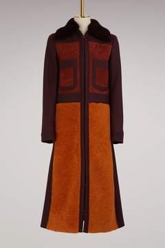 Anya Hindmarch Wool long 70s coat