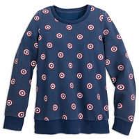 Disney Captain America Sweatshirt for Women by Her Universe