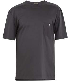 Zimmerli 8510 patch-pocket cotton-blend pyjama T-shirt