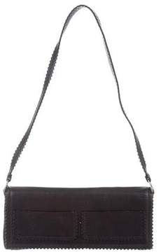 Anya Hindmarch Brogue-Accented Leather Shoulder Bag