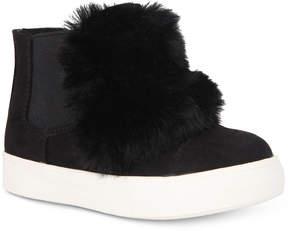 Nina Helen Hi-Top Sneaker with Faux-Fur Trim, Toddler, Little Girls (4.5-3) & Big Girls (3.5-7)
