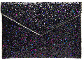 Rebecca Minkoff Glitter Leo Clutch - PURPLE MULTI - STYLE
