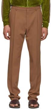 Bottega Veneta Brown Wool Gabardine Trousers