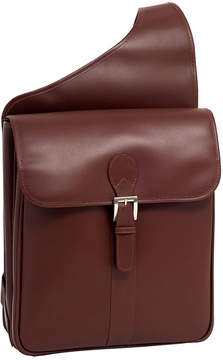McKlein McKleinUSA Sabotino 14 Leather Vertical Messenger Bag