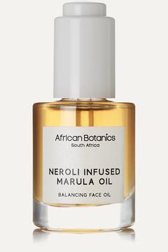 African Botanics - Neroli Infused Marula Oil - Balancing Face Oil, 30ml