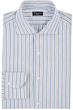 Finamore Men's Striped Cotton Shirt