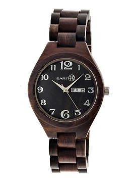 Earth Wood Sapwood Unisex Brown Bracelet Watch-Ethew1602