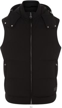 Dunhill Down Filled Hooded Gilet