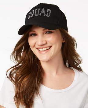 Betsey Johnson Squad Cotton Baseball Cap