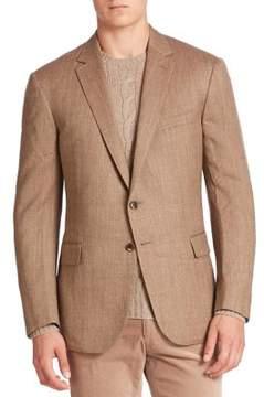 Ralph Lauren Purple Label Wool & Silk Blend Blazer