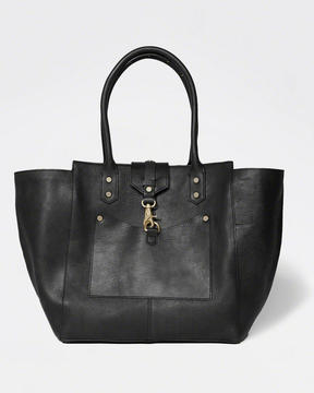 The City Carryall Genuine Leather Bag