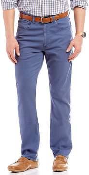 Daniel Cremieux Straight-Fit Garment Dye Stretch Twill Chino Pants