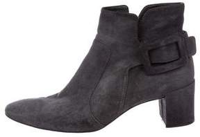Roger Vivier Suede Ankle Boots