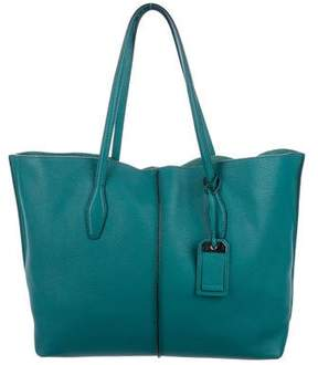 Tod's Grained Leather Joy Tote