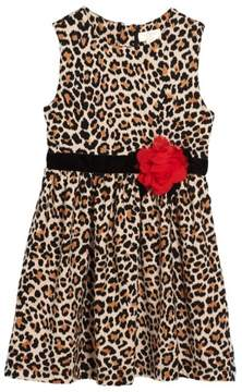 Kate Spade Toddler Girl's Leopard Print Dress