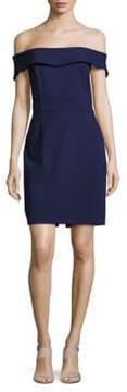 Alexia Admor Solid Off-The-Shoulder Dress