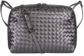 Bottega Veneta Metallic Nodini Cross Body Bag