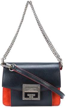 Givenchy Blue Mini Gv3 Bag