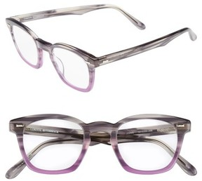 Corinne McCormack Women's Annie 46Mm Reading Glasses - Grey Fade Purple