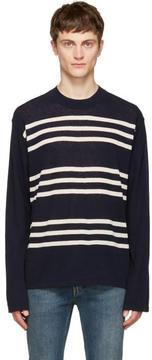 Acne Studios Navy Kusaja Sweater