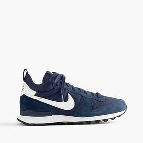 J.Crew Nike® internationalist mid sneakers in navy